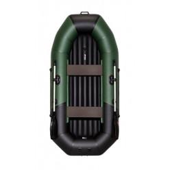 Лодка Таймень NX 270 комби зелёный/чёрный НД