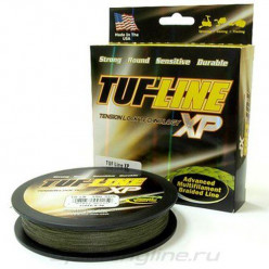 Плетёнка TUF-LINE XP 91м 0,10мм 7кг зеленый