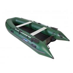 Лодка моторная Gladiator E 420 зеленый
