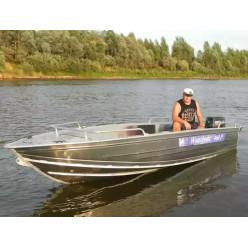 Алюминиевая лодка Wyatboat-460 P