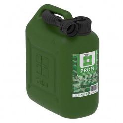 Канистра пластик Oktan Profi для ГСМ 10 л зелёная