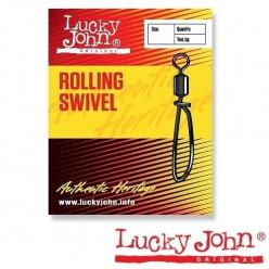 Вертлюжокс застежкой Lucky  Barrel Swivel 5053-002
