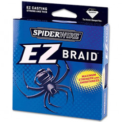Шнур плетеный Spiderwire EZ Braid  0,17мм 137м зеленая