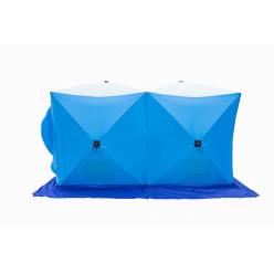 Палатка зим.ДУБЛЬ 2 трехслойная дышащая