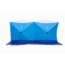 Палатка зим.ДУБЛЬ 3 трехслойная дышащая