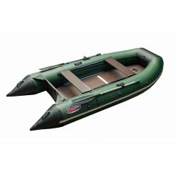 Моторная лодка ПВХ Hunter Keel 3500 зеленый с черным