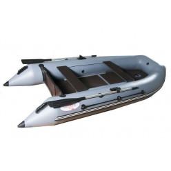 Моторная лодка ПВХ Hunter 2900 серый