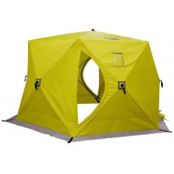 Палатка зимняя утеплен. ЮРТА желтая Helios