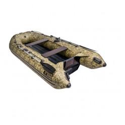 Лодка моторная гребная Ривьера Компакт 3200 НДНД камуфляж камыш