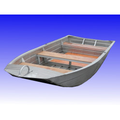 Лодка алюминиевая Вятка-Профи 37-Т