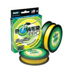 Плетеный шнур Power Pro 135м Hi-Vis Yellow 0.28мм 30Lb