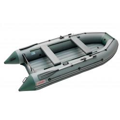 Моторная лодка ПВХ Zefir 3500 LT серый/зеленый НДНД