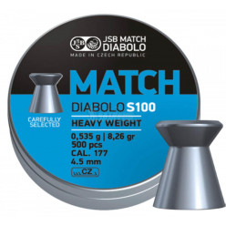 Пули пневматические JSB Blue Match S100 4.5мм 150шт
