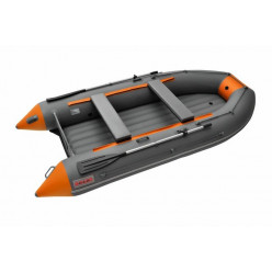 Лодка Roger Zefir 3500 LT NEW (цвет т.серый/оранжевый) НДНД