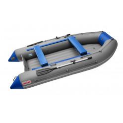 Лодка Roger Zefir 3500 LT NEW (цвет т.серый/синий) НДНД