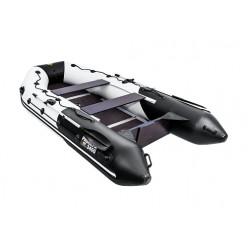 Лодка моторная гребная Ривьера Максима 3400 СК Комби светло-серый/черный