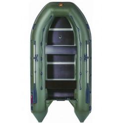 Лодка моторная гребная Ривьера Максима 3600 СК Комби зеленый/черный