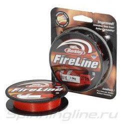 Шнур Berkley FireLine Red 110м 0.32мм