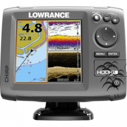 Эхолот Lowrance Hook-5 Mid/High/DownScan