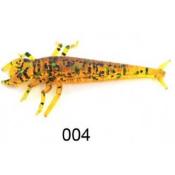 "Приманка ""Личинка стрекозы"" 2,0""/5,0 см., 0,85 гр., цвет 004. (уп/6 шт.)краб"