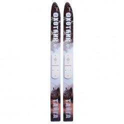 Лыжи охотничьи Тайга деревянные 185/15 см