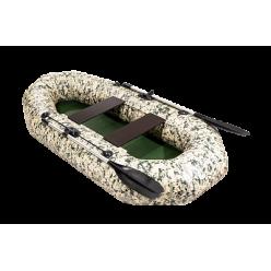 Лодка APACHE 240 камуфляж пиксель зеленый