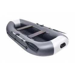 Лодка Таймень LX 290 НД графит/светло-серый