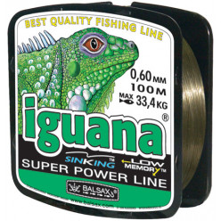 Леска BALSAX Iguana 100m 0.6mm-33,4kg
