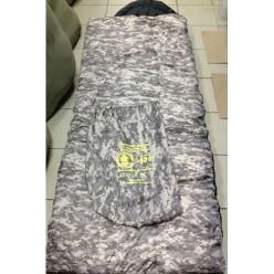 Спальный мешок с подголовником -30 широкий 240*180