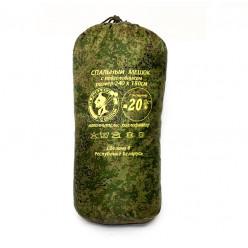 Спальный мешок с подголовником -20 широкий 240*180