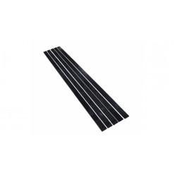 Накладки на дно саней 1800 черные 8мм