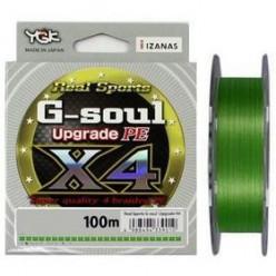 Шнур плетеный YGK G-Soul X4 Upgrade 0,185мм 200м