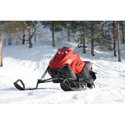 Снегоход Итлан-Каюр К-1 двигатель КАЮР 420