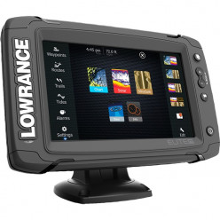 Эхолот Lowrance Elite-7Ti Mid/High/TotalSkan