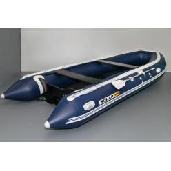 Лодка надувная транцевая Солар-500 Jet Tunnel синий