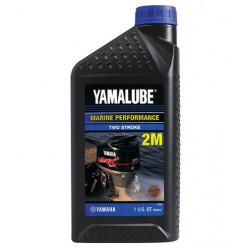 Моторное масло YAMALUBE 2М 2-тактное полусинтетика, 1л.