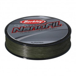 Пл. шнур Berkley Nanofil Lo-Vis Green 0.217мм 125м