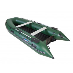 Лодка моторная Gladiator E 380 LT зеленый