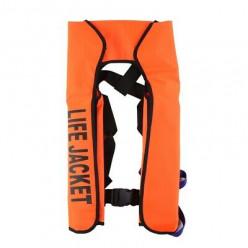 Жилет самонадувной Life Jacket оранжевый