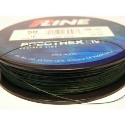 Плетеный шнур P-Line Spectrex IV 136м 0,61мм тем-зеленый
