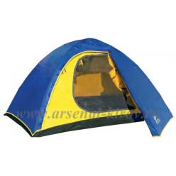 Палатка Alaska Трек 3  синий/голубой