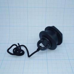 Клапан сливной черный