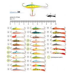 Балансир Spider Pro 08 11 гр 50мм 86
