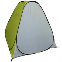 Палатка зимняя автомат 1,5*1,5 дно на молнии жёлтая