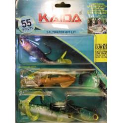 Набор силиконовых приманок Kaida AG009