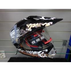 Шлемь кросс МС140 черн. Тип17 L MICHIRU