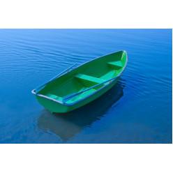 Лодка стеклопластиковая Голавль с усиленным транцем