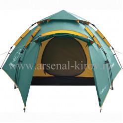 """Палатка """"Каслрей 4""""зеленый"""