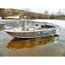 Алюминиевый катер Wyatboat-430 DC