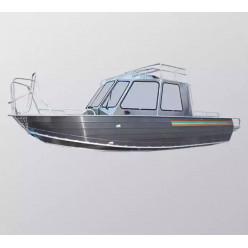 Алюминиевый катер Wyatboat-660 Cabin